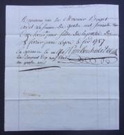 Manuscrit Commercial Du XVIIIe Siècle - Rhône - Lyon - Protagonistes Bouvet Cadet Et Autres - Manuskripte