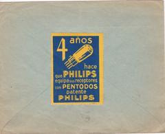 Spain Las Palmas - 4 Anos Patente PHILIPS - 1931-50 Lettres