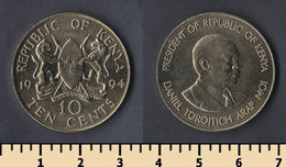 Kenya 10 Cents 1994 - Kenya