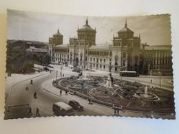 D173588  Espana  -   Valladolid  Plaza Zorilla  Academia De Caballeria - Bus Autobus  - Esperanto Correspondence  1959 - Valladolid