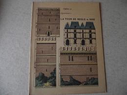 Protège Cahier,  La TOUR DE NESLE EN 1600, Fin XIX - Book Covers