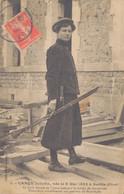 60 - SENLIS / CARON JULIETTE Née Le 6 MAI 1882 à SENLIS - SEULE FEMME DE FRANCE CHARPENTIER - Senlis