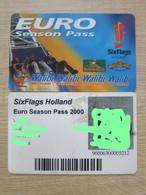 Six Flags Holland, Euro Season Pass Card - Niederlande