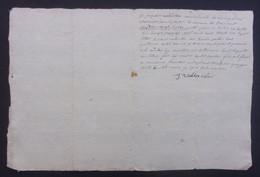 Manuscrit Du XVIIIe Siècle - Cantal - Saint-Flour - Protagonistes Dénommés Jacques Vallantin Et Autres - Manuskripte