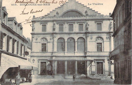 62 - Boulogne-sur-Mer - Le Théâtre (hotel Restaurant J. Glorg) (tampon Hopital Temporaire) - Boulogne Sur Mer