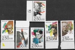 FRANCE N°2747 à 2752 ** 6 Valeurs Neuves Sans Charnière Luxe Série Complète MNH - France