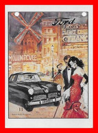 CPSM/gf AUTOMOBILE.  FORD. Revue 11 Novembre 1954...L540 - Passenger Cars