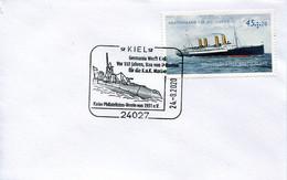 58619  Germany, Special Postmark 2020 Kiel,   U-boot  Submarine  Sous Marin  Sottomarino - Submarines