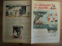 LA SEMAINE DE SUZETTE N°12 DU 23 MARS 1950. 1° PLAT D A. PECOUD LES ANIMAUX SPORTIFS / MANON IESSEL / EDITH FOLLET / EN - La Semaine De Suzette