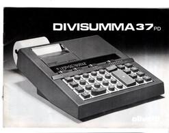 OLIVETTI DIVISUMMA 37 PD Manuale - Techniek