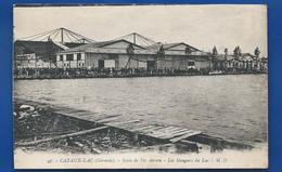 CAZAUX-LAC    Ecole De Tir Aérien   Les Hangars Du Lac       Animées - Other Municipalities