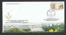 INDIA 2013,  FDC, Post Graduate Institute Medical Research, Chandigarh,  Jabalpur  Cancellation - FDC
