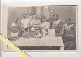 """Photographie / """"Saint Pierre, Saint Paul Et Union Des Cuisiniers Du 2ème Colonial, 1er Bataillon / Juillet 1919 Langon ? - Fotografía"""