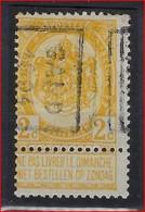 DUBBELDRUK Nr. 54 Voorafgestempeld Nr. 10B GAND 1894 In Goede Staat ; Zie Ook Scan ! Inzet Aan 45 € ! - Precancels