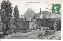 "VILLERS SIRE NICOLE   "" Usines Scultfort Fockedey  ""   N° 570 - Autres Communes"