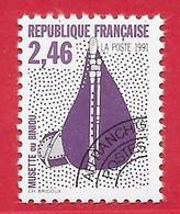 France Préo N°216a 2F46 Lilas, Violet & Noir (dentelé 12) 1991 Instrument Musique Biniou ** - Precancels