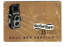 ROLLEIFLEX 3.5  FRANKE & HEIDECKE Braunschweig Manuale - Zubehör & Material