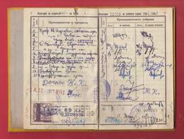 250747 / 1942 Student's Record Book - St. Kliment Ohridski University - Sofia - Faculty Theology Nun Revenue Bulgaria - Diploma & School Reports