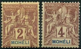 Moheli (1906) N 2 + 3 * (charniere) - Neufs