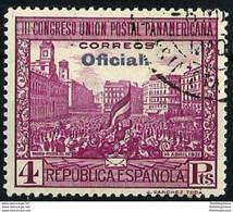 ESPAÑA 628 En Usado. Cat.22 € - 1889-1931 Reino: Alfonso XIII