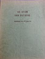 De Stam Van Outryve - Geschiedenis Van Een Familietak - Ooigem - Heist - Genealogie - Stamboom - Storia