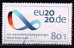 Bund 2020,Michel# 3554 O EU - Präsidentschaft - [7] Federal Republic