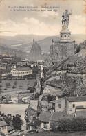 Le Puy (43) - Rocher St Michel Et La Vallée De La Borne - Le Puy En Velay