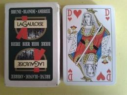 LA GAULOISE. BIERE .BRUNE. BLONDE. AMBREE. Jeu Neuf De 52 Cartes +2 Jokers. Dans Sa Boite Carton. - Kartenspiele (traditionell)