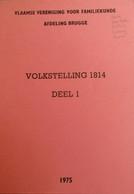 Volkstelling 1814 -  Hoeke Sint-Pieters Oostkerke Lissewege Damme - Storia