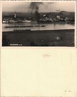 Vilshofen An Der Donau Panorama Blick Auf Frachtschiff-Verband Donau 1930 - Deutschland