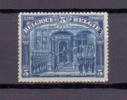 148a VEURNE 5FR. TYPE 1 POSTFRIS** 1919 - 1915-1920 Albert I