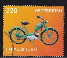 Austria 2013, Scooter, Moped, Minr 3047 Vfu. Cv 4,40 Euro - 2011-... Gebraucht