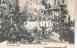Grande Cortège Déguisé 1908 - La Fée Aux Chouz - Ostende - Oostende - Oostende