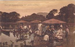752/ Ned. Indie, Bandoeng,  Meer Van Tjitjangkowang Met Pleziervaartuigen, 1912 - Indonesia