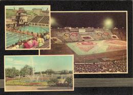 Stadion,Stadium,Le Stade,stade De Football,football Stadium.Leipzig,DDR,Germany,Olympic Games - Stadiums
