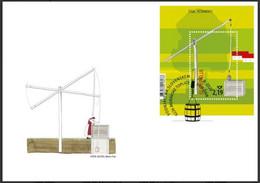 Slovenia 2020 Fdc Cover: Water; Wasser;  L'eau; Laver Well; Brunnen; Bien; - Boissons
