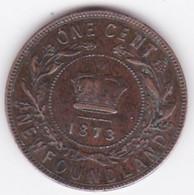 Canada. Terre-Neuve / Newfoundland 1 Cent 1873. Victoria - Canada