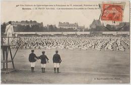 35 Rennes Fête De Gymnastique Sur Le Champ De Mars En 1914 -s38 - Rennes