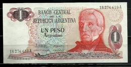 ARGENTINA - BILLETE DE UN PESO SIN CIRCULAR - Argentina