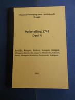 Volkstelling 1748 -  Aartrijke Eernegem Ettelgem Ichtegem Loppem Wenduine Zedelgem Enz. - Storia
