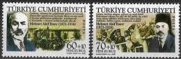 2006 TURKEY THE 70TH ANNIVERSARY OF MEHMET AKIF ERSOY 'S DEATH MNH ** - 1921-... República
