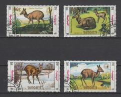 (S1758) MONGOLIA, 1990 (Musk Deer). Complete Set. Mi ## 2130-2133. Used - Mongolia