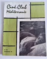 Ciné-club Méditerranée N° 26 - 1962 - Cinema Advertisement