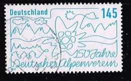 Bund 2019,Michel# 3456 O 150 Jahre Deutscher Alpenverein - [7] Federal Republic