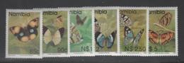 Namibia - #749-54(6) - Used - Namibia (1990- ...)