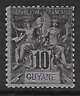 GUYANE N°34 N* - Guayana Francesa (1886-1949)