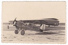AEREO NON IDENTIFICATO - PLANE - FOTO CARTOLINA ORIGINALE - Aviazione
