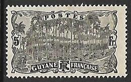 GUYANE N°65 N* - Guayana Francesa (1886-1949)