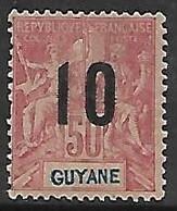 GUYANE N°72 N* - Guayana Francesa (1886-1949)