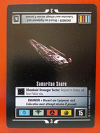 Star Trek CCG (Q Continuum) - Mission – Samaritan Snare (rare) - Star Trek